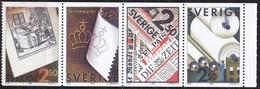 Schweden, 1990, 1625/28,  MNH **, Verband Der Zellstoff- Und Papierfabrikanten. - Svezia