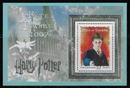 FEUILLET N° 106 FETE DU TIMBRE HARRY POTTER NEUF ** LUXE COTE 2,50 € - Blocs & Feuillets