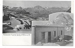 GR 7516  RESTAURANT FUORCLA SURLEJ    1908 - GR Grisons