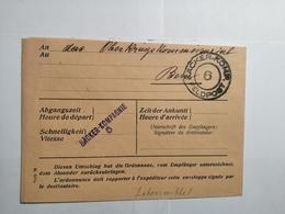 Feldpost 1918 BÄCKER-KOMPAGNIE 6 - Allemagne