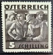 AUSTRIA 1934/36 - MLH - ANK 587 - 5S - Ungebraucht