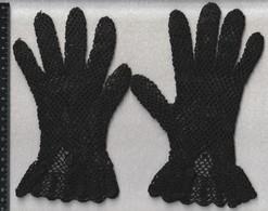 Gants Ancien Au Crochet - Historische Bekleidung & Wäsche