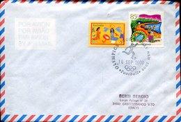 53530 Australia,  Special Postmark 2000  Sydney Olympics 2000   Football,   16.9.2000 - Ete 2000: Sydney