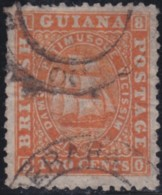 British Guiana  .    SG  .    68        .   O       .    Oblitéré    .   /    .   Cancelled - Guyana Britannica (...-1966)