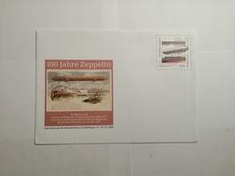 Deutsche Poskarte Zeppelin 9 Karte - [7] République Fédérale
