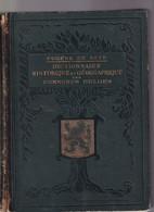 922/30 -- LIVRE/BOEK Dictionnaire Des Communes Belges (Vol. 1et 2) - Par E. De Seyn , 1518 Pages , 1934 - Andere Boeken