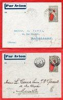 Madagascar-3 Entiers Et Une Env.-Ankazobé-Morombe-Tulear-1903,1938 - Lettres & Documents