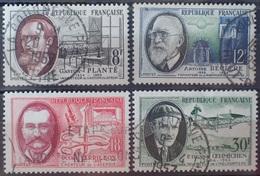 DF/1107 - 1957 - CELEBRITES (SERIE COMPLETE) - N°1095 à 1098 ☉ - France