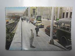 Carte Postale ALGERIE, Alger, Boulevard Carnot - Algeri