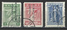 Griechenland Levante Mi 19-21 I O - Levant