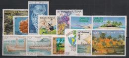 Wallis Et Futuna - Année Complète 1990 - N°Yv. 393 à 404A - 13 Valeurs  - Neuf Luxe ** / MNH / Postfrisch - Neufs