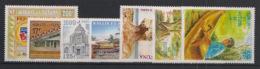 Wallis Et Futuna - Année Complète 1999 - N°Yv. 529 à 534 - 7 Valeurs  - Neuf Luxe ** / MNH / Postfrisch - Neufs