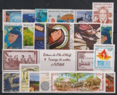 Wallis Et Futuna - Année Complète 2008 - N°Yv. 691 à 711 - 22 Valeurs  - Neuf Luxe ** / MNH / Postfrisch - Nuovi
