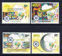 2011 Angola SADC Development Trade Maps  Complete Set Of 4 MNH - Angola