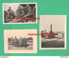 Artiglieria Regio Esercito Cannoni 149 Guns Canons Artillerie Armes à Feu 3 Foto - Guerre, Militaire