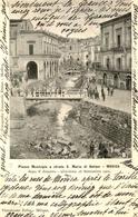 Modica - Piazza Municipio E Strada S. Maria Di Betlem - Alluvione 26 Settembre 1902 - Animation - Sicilia Italia - Modica