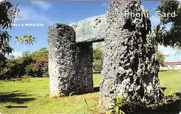 *IS. TONGA: 323CTDG* - Scheda Usata - Tonga
