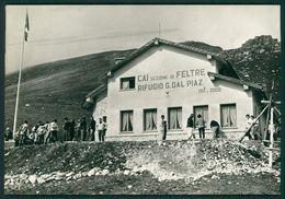Belluno  Sovramonte Rifugio Capanna CAI Dal Piaz FG R140 - Belluno