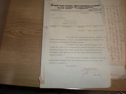 Eisen Und Stahl Aktiengesellschaft Wien 1936 - Autriche