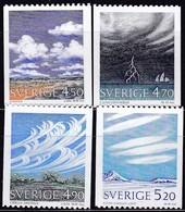 Schweden, 1990, 1633/36,  MNH **, Wolken Und Wetter. - Svezia