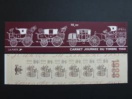 FRANCE Carnet Journée Du Timbre 1988 NEUF ** Y&T N°BC2526A - Carnets
