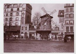 CPM: PHOTO - LE MOULIN ROUGE DE MARTIAL CAILLEBOTTE - - Arts