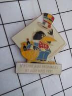 1216a Pin's Pins / Beau Et Rare / THEME : VILLES / ANTONY FOIRE AUX FROMAGES ET AUX VINS CORBEAU LA FONTAINE - Cities