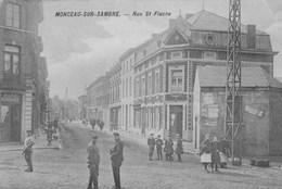 Monceau-sur-Sambre.  Rue St Fiacre.  Scan - Autres