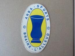 Braine L' Alleud Autocollant Sticker Arba Sport Trophée - Braine-l'Alleud