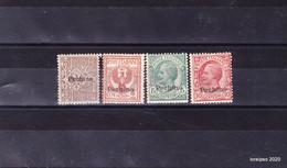 """1917 / 18 Italia Regno  """"Ufficio Postale Di Pechino """"-  Sas  8/11 ** MNH - 11. Foreign Offices"""