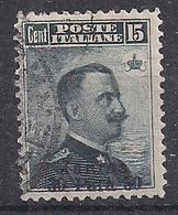 REGNO D'ITALIA LEVANTE GIANNINA 1909-11 FRANCOBOLLI SOPRASTAMPATI SASS. 3 USATO VF - 11. Foreign Offices