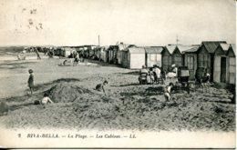 CPA - RIVA-BELLA - LA PLAGE - LES CABINES (1927) - Riva Bella