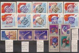(Fb).Romania.1959/67.Lotto Di 4 Serie ,nuove,gomma Integra,MNH (26-17) - 1948-.... Republiken