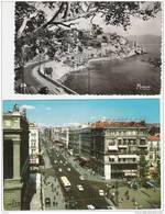2 CP Marseille.  Vieux Port , Canebiere, Bateaux - Riviste: Abbonamenti