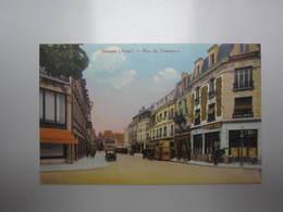 Carte Postale AISNE Soissons Rue Du Commerce - Soissons