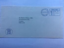 GB 2000 Official Envelope / Cover EIIR Cachet And 1st Class Meter Mark Buckingham Palace - Sir Martin Gilbert - Briefe U. Dokumente