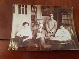 Photo Originale  Guerre  Soldat  Officier  Militaire 8RI En Famille Annee Circa  1900 - Krieg, Militär