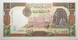 Syrie - 50 Pounds - 1998 - PICK 107 - NEUF - Siria