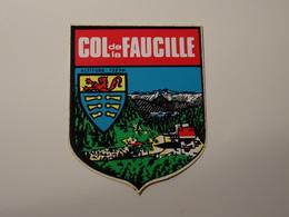 Blason écusson Adhésif Autocollant Col De La Faucille (Ain)  Wappen Coat Of Sticker Adesivo Adhesivo - Obj. 'Remember Of'