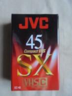 Cassette Pour Camescope VHS Pal Secam JVC 45 SX - Caméscope