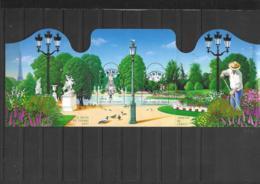 F 70  **    Y & T Belles Oblitérations Jardins De France Les Tuileries & Le Parc Floral De Paris  57/32 - Mint/Hinged