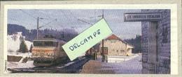 Gare Des Longevilles-Rochejean - 1987 - Photo D'époque - Autres Communes