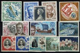 Monaco - Lot De 13 Timbres Neufs Sans Charnières - Collections, Lots & Series