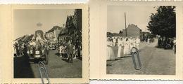 GRIMBERGEN  :  Stoet Burgemeester   (  7 Zeer  Originele Foto's  )  9.5 X 9 Cm   Zie Scans - Plaatsen