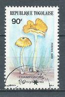 Togo YT N°1197 Champignon Hygrocybe Firma Oblitéré ° - Togo (1960-...)