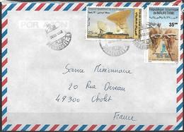 Lettre De Mauritanie - Mauritania (1960-...)