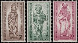✔️ West Berlin 1955 - 25 Jahre Bistum - Mi. 132/134 ** MNH - €4.50 - Unused Stamps