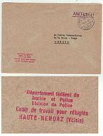 Suisse // Schweiz // Switzerland // 1940-1949 //  Lettre Du Camp De Travail Pour Réfugiés à Haute-Nendaz Pour Genève - Svizzera