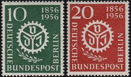 ✔️ West Berlin 1956 - Verein Ingeneure - Mi. 138/139 ** MNH - €7 - Unused Stamps