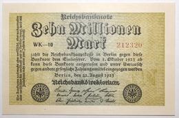 Allemagne - 10000000 Mark - 1923 - PICK 106a.1 - NEUF - [ 3] 1918-1933: Weimarrepubliek